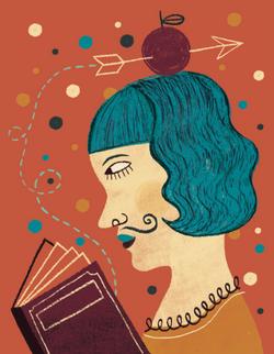 Circus illustration Flavia