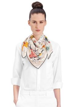 Hermès Paris flavia carre