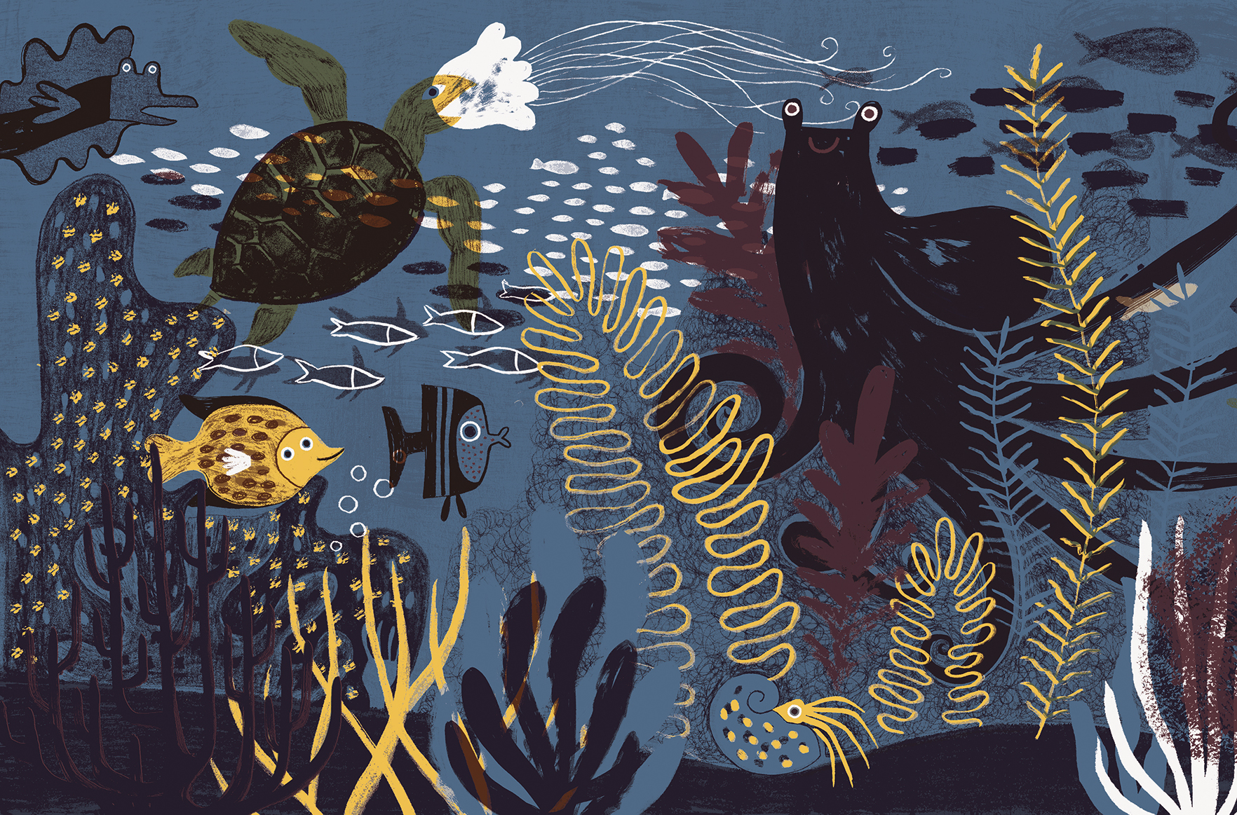 Under the Sea illustration Flavia