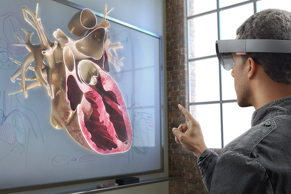 Mixed Reality for teaching