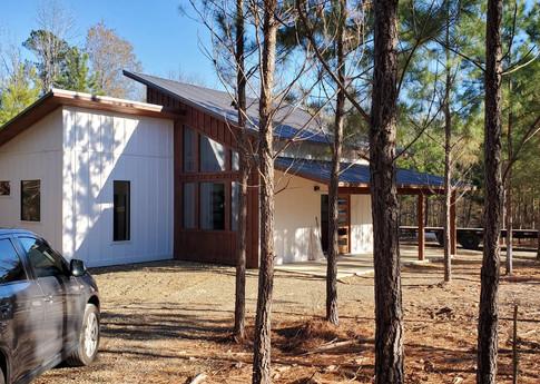 modern ranch cabin