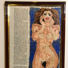 "Right panel of  ""A beautiful woman (Tula,1991)"""
