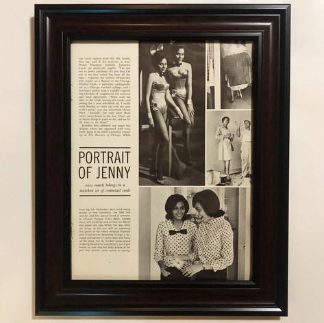 """Left panel from: """"Portrait of Jenny (Jennifer Jackson)"""""""