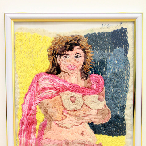 "Right panel from: ""These pictures are a celebration of a new life for me. (Jessica Hahn: Born Again)"""
