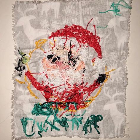 "Back of ""XXX-MAS 2019 (Party Santa)"""