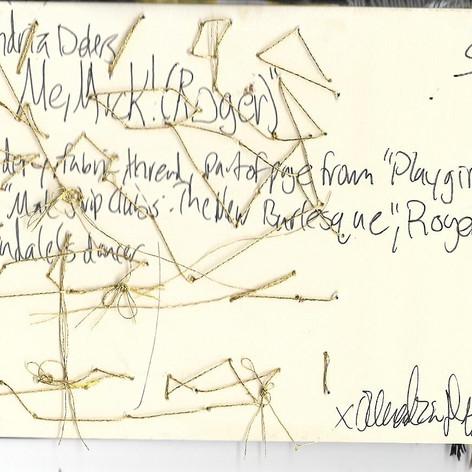 "Back of ""Cut Me, Mick! (Roger)"""