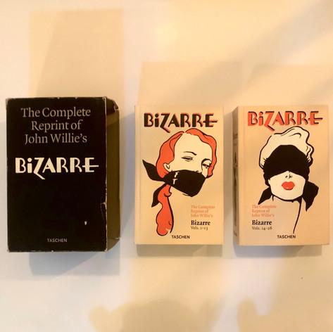 The complete reprint of John Willie's Bizarre