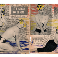 Keep it gay, keep it bright, keep it live, keep it light. (Cooper Donuts Riot 1959)