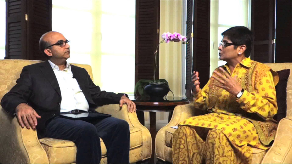 ICLIF/ Interview with Dr. Kiran Bedi