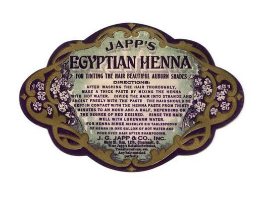 Japp's Egyptian Henna