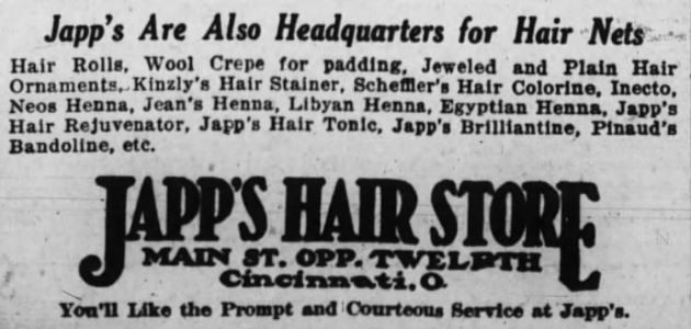 1922 Ad for Japp's Hair Nets.jpg