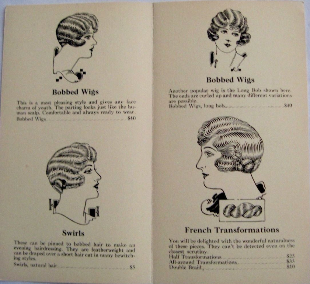1926 Pamphlet for Japp's Hair Store