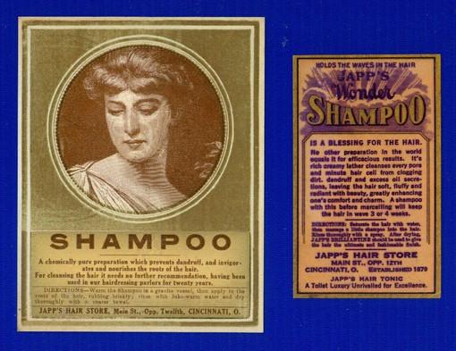Japp's Shampoo Ad