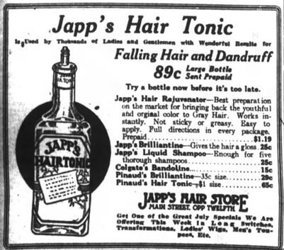 1917 Ad for Japp's Hair Tonic.jpg