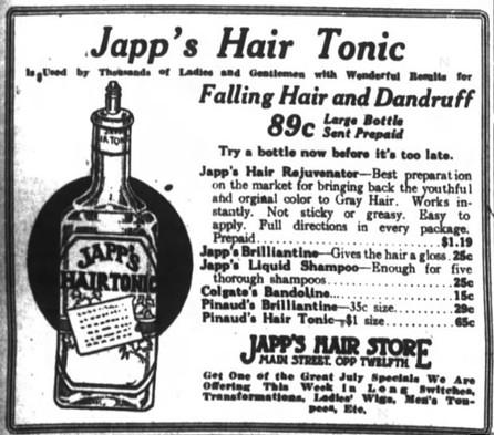 1917 Ad for Japp's Hair Tonic.jpg
