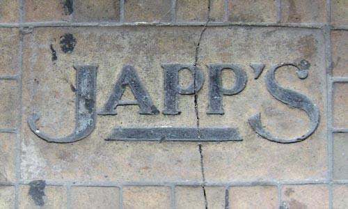 Japp's in Stone