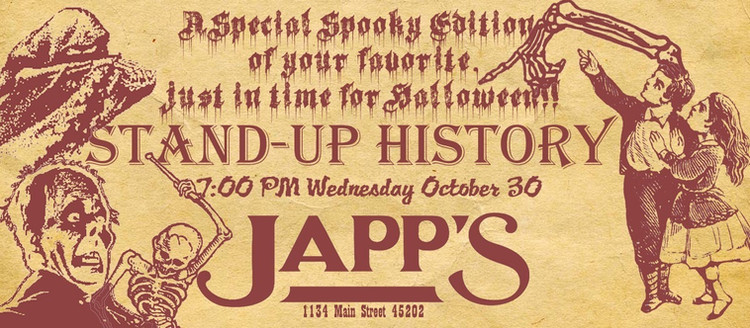 Japp's Stand-Up History Event