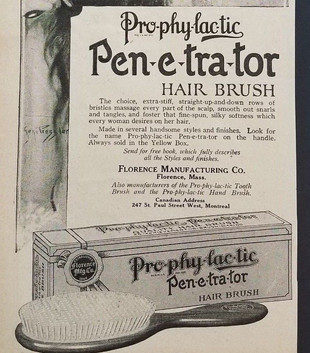 Prophylactic Penetrator Hair Brush