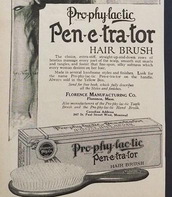 Prophylactic Penetrator Hair Brush