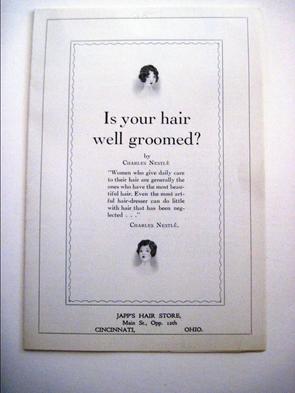Japp's Hair Ad
