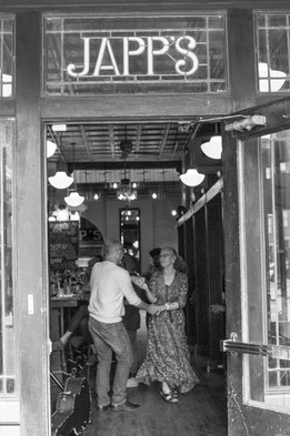 A Couple Dancing at Japp's