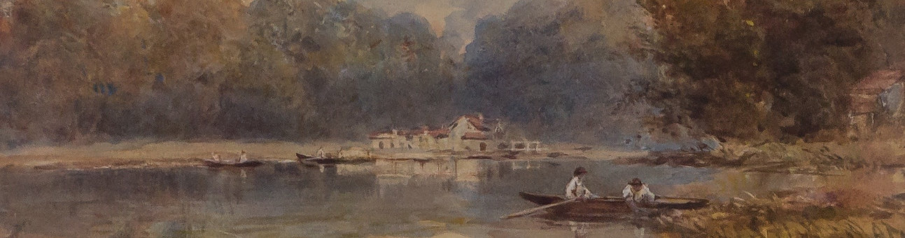 Lake painting