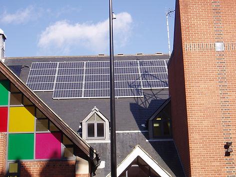 Queens Park Church PV installation