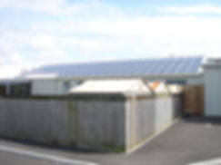 A 130 PV panel commercial installation