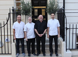 The four Plowman Partners at one of the |Best Private Dentist Marylebone London