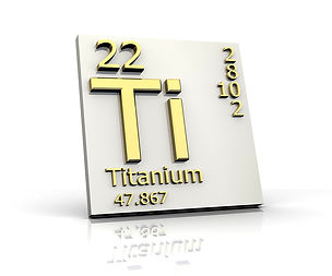 Chemical symbol for the Titanium element