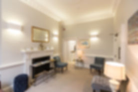 Waiting room at 52 Queen Anne Street | Best Private Dentist Marylebone London