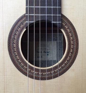 Classical guitar by Derk Hooper