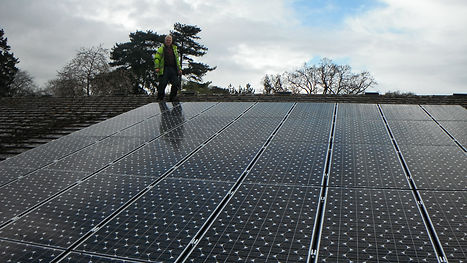 PV installation on All Nations Christain College