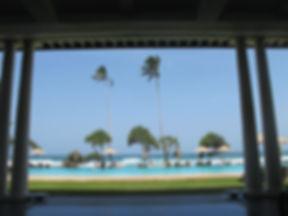 Sri Lankan beach scene