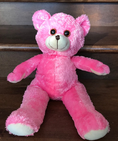 Weighted Pink Bear