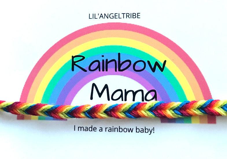 Rainbow Baby Bracelet Fishtail
