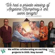 We had a private viewing of Angelene Hum