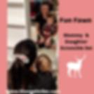 Fun Fawn Mommy & Daughter Scrunchie Set.