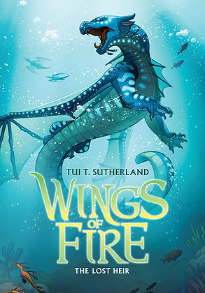 Wings of Fire Book Two- The Lost Heir