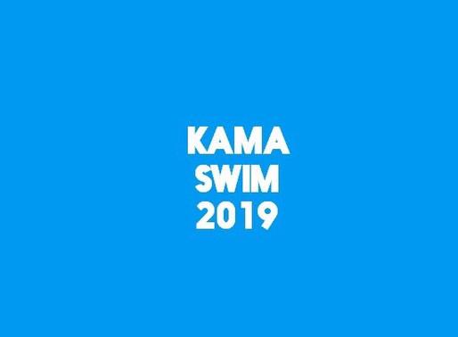 Заплывы через Каму Kama Swim