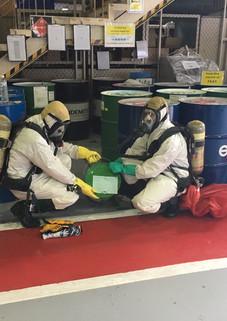 ความปลอดภัยในการทำงานกับสารเคมี