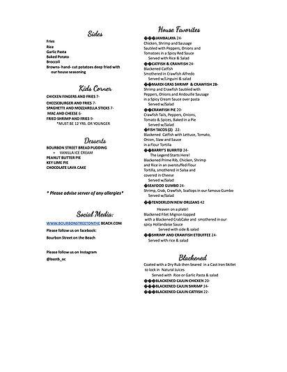 bourbon street menu back legal april 202