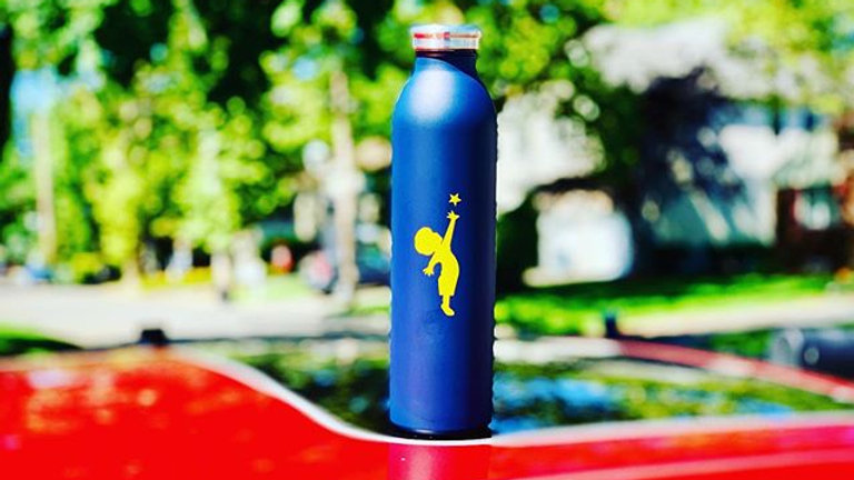 Jeffrey's Giants Stainless Steel Water Bottle