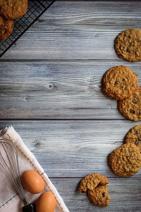 chocolate chip oatmeal cookies  (1 of 1)