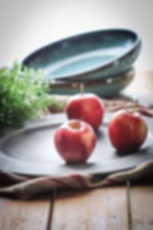Stock three apples on wood-1.jpg