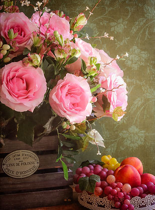 French inspired rose bouquet vintage.jpg