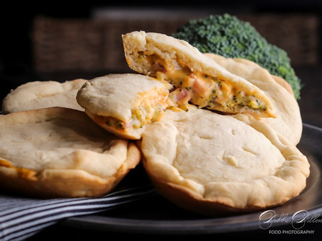 Broccoli Cheese Mini Pies