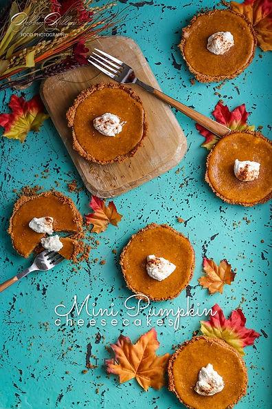 mini pumpkin cheesecakes wm.jpg