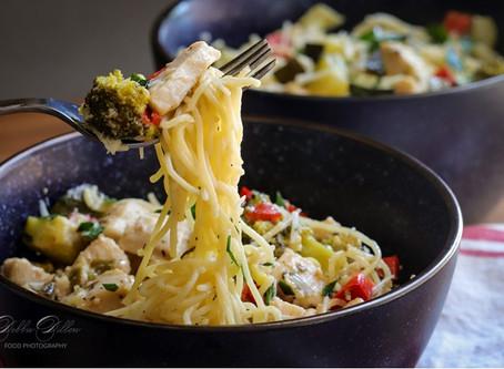 Veggie Pasta Skillet Meal