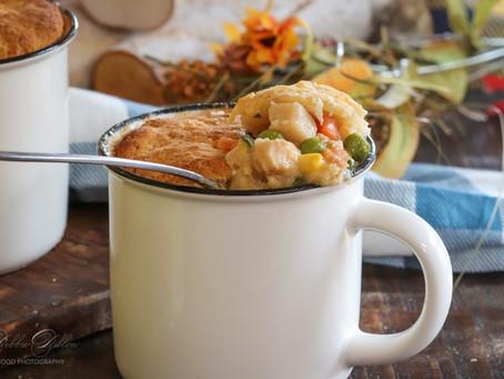 Chicken Pot Pie (in a mug)
